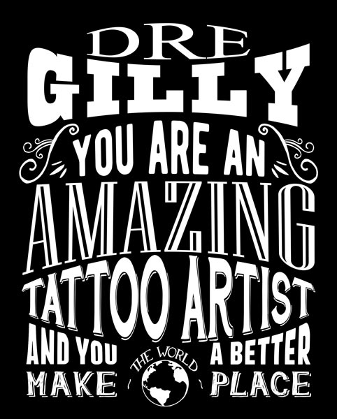 Amazing Tattoo Artist Custom Plaque Metal Sign For Men Or Women Gift Personalized For Ashley