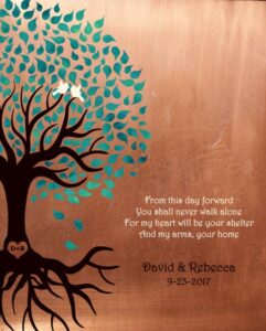 From This Day Forward You Shall Never Walk Alone Gift Personalized For Rebecca