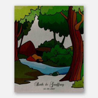 Anniversary Gift For Couple, Personalized Gift For Beloved, True Nature Image, Handcrafted Gift For Husband or Wife On Anniversary, 1018