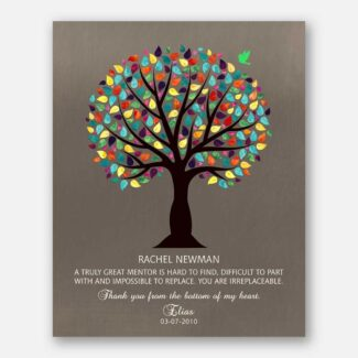 Gift For Mentor, Gift For Boss, Thank You Gift, Personalized Gift For Your Mentor With A Heartfelt Message That Will Be Cherished, 1029