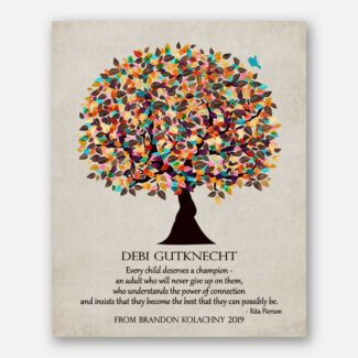 End of Year Every Child Deserves Personalized Rita Pierson Quote Gift For Teacher #1321