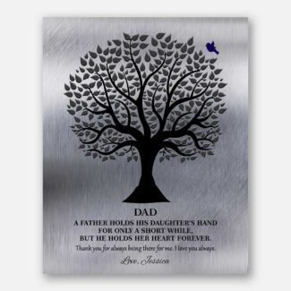Gift For Dad A Father Holds His Daughter's Hand Wedding Day Gift From Daughter To Father 1351
