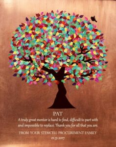 Mentor Gift Colorful Tree – Personalized for Stacy