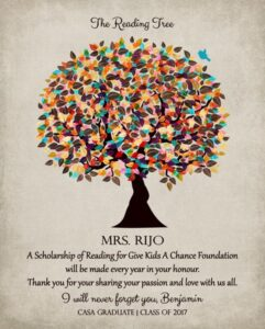 Gift For Teacher Thank You Mentor Gift For Educator Principal Preceptor – Personalized for Tania