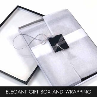 Gift Box With Tissue Wrapping and