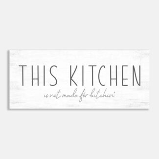 This Kitchen Is Not Made For
